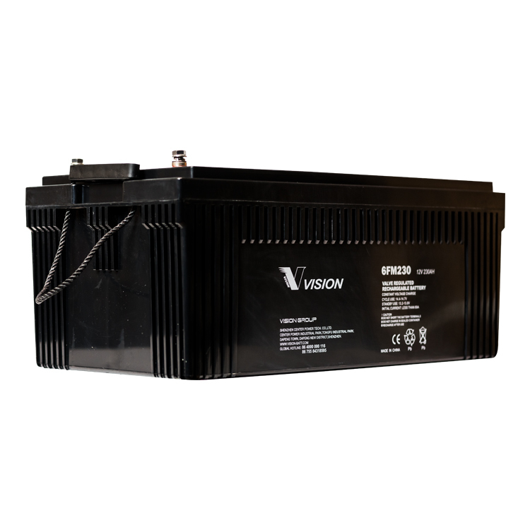 Vision 12v 230ah AGM Battery VRLA (FREE DELIVERY, no Rural tickets)