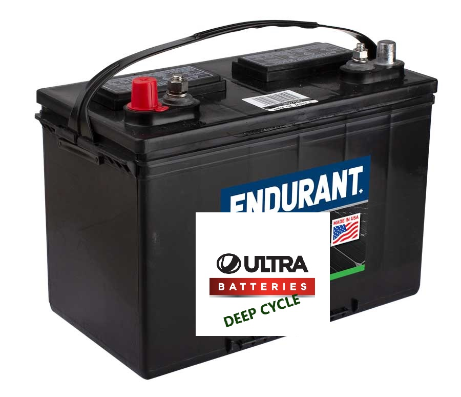 12V 105Ah US Battery Company Deep Cycle battery (FREE DELIVERY, no Rural tickets)