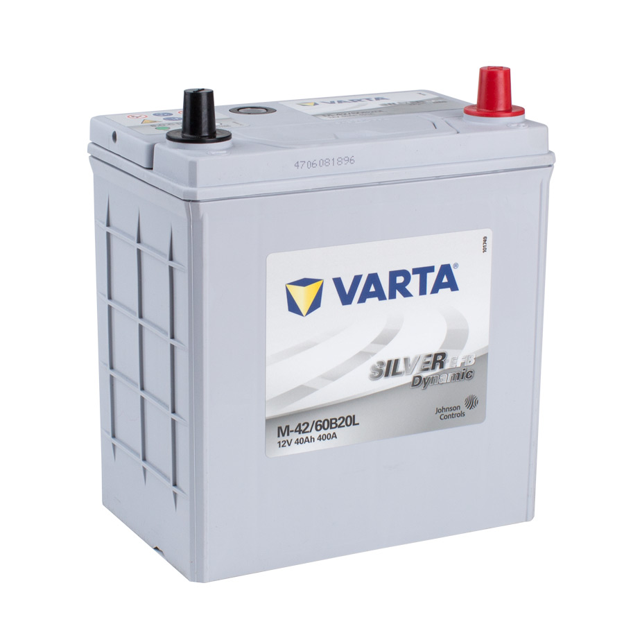 VARTA EFB 12v Car battery EV, SS, HP and Cycle, M42LEFB/60B20L (FREE DELIVERY, no Rural tickets)