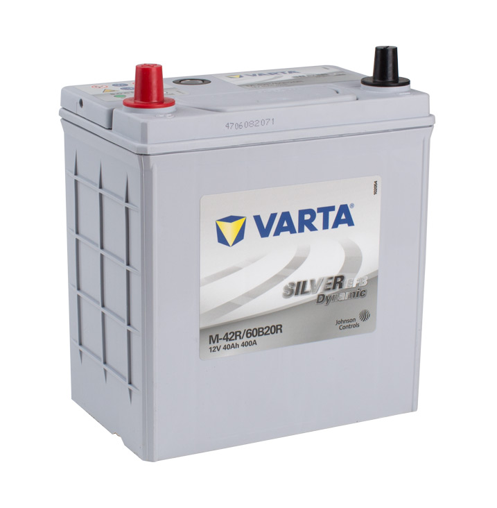 VARTA EFB 12v Car battery EV, SS, HP and Cycle, MF42REFB/NS40PP (FREE DELIVERY, no Rural tickets)