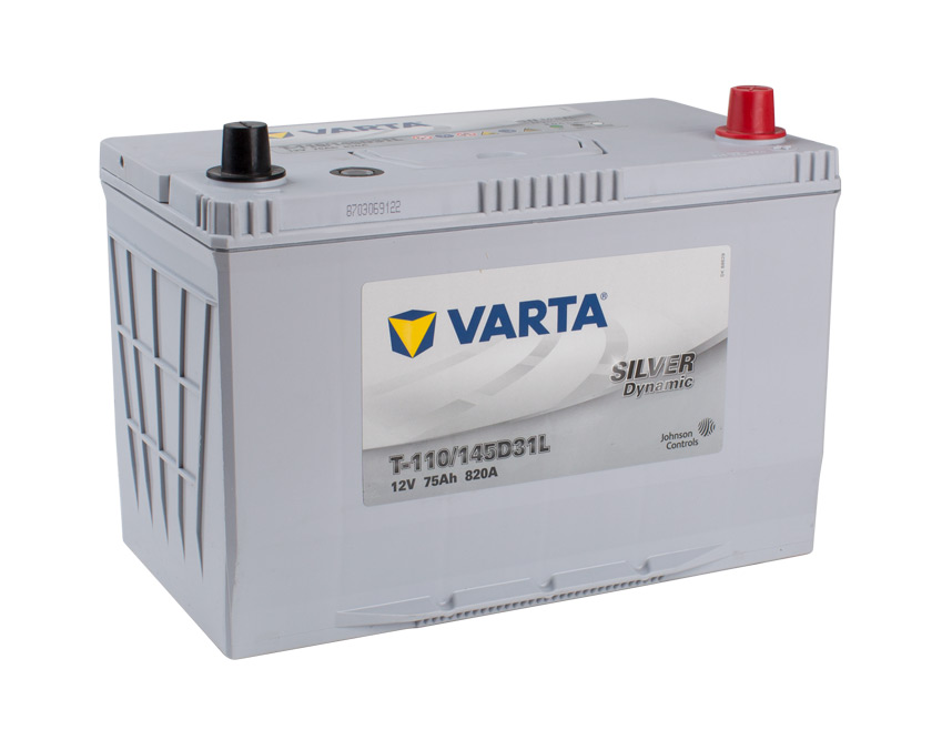 VARTA EFB 12v Car battery EV, SS, HP and Cycle, T110LEFB, 145D31L, N70ZZL (FREE DELIVERY, no Rural tickets)