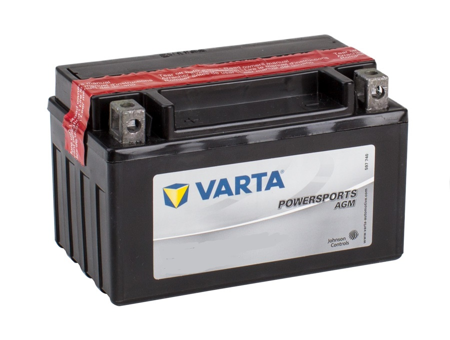 TTZ10S VARTA Powersports AGM Dry-cell Motorcycle battery 12v