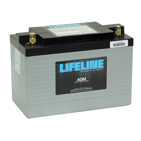 GPL-3100T 12V STARTING BATTERY 1120CA at 20 Celsius