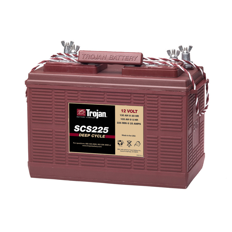 Trojan Battery  12v 130ahr Flooded Deep Cycle Lead Acid