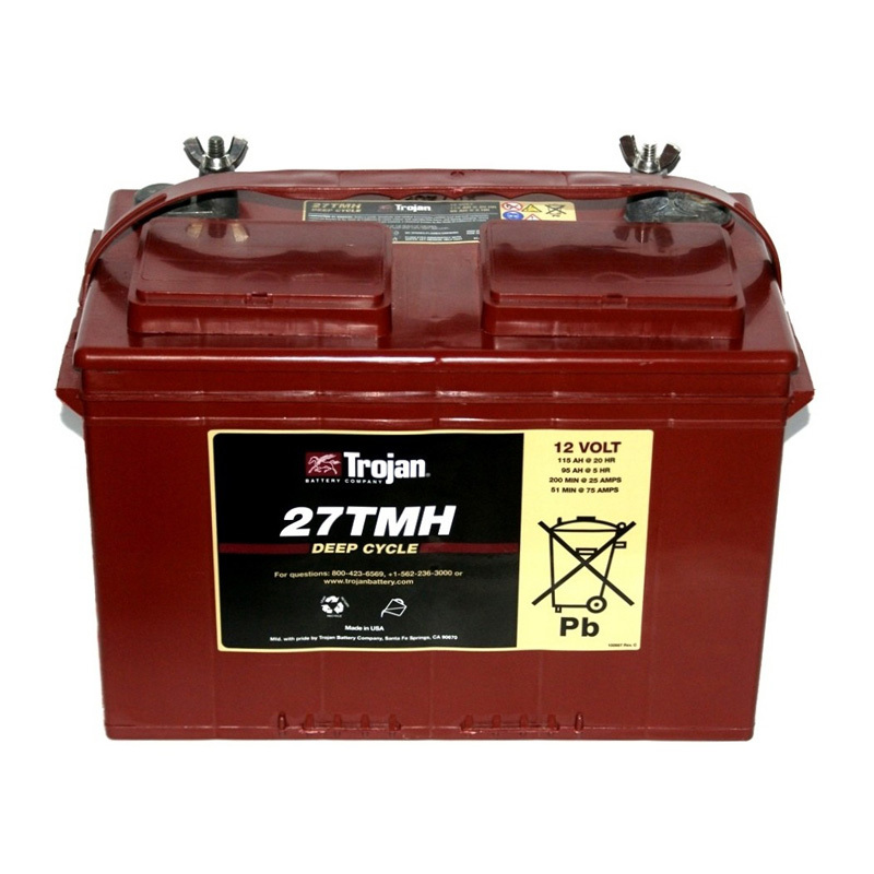Trojan Battery 12v 115ahr Flooded Deep Cycle Lead Acid