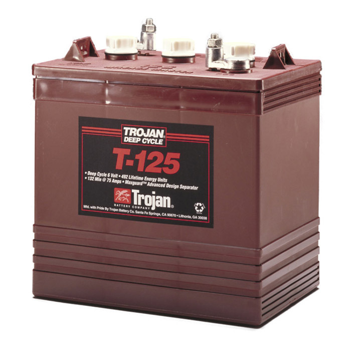 Trojan Battery 6v 240ahr Flooded Deep Cycle Lead Acid