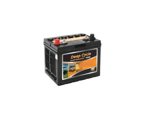EXIDE ED48 Deep Cycle Battery 12v 55ah (FREE DELIVERY, no Rural tickets)