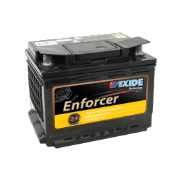 EN55MF 12v 490cca EXIDE ENFORCER (FREE DELIVERY, no Rural tickets)