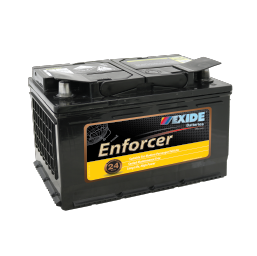 EN66MF 12v 610cca EXIDE ENFORCER (FREE DELIVERY, no Rural tickets)