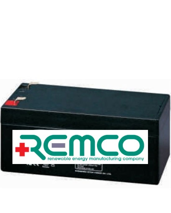 12V 3.3ah SLA, VRLA, AGM sealed Battery REMCO (FREE DELIVERY, no Rural tickets)