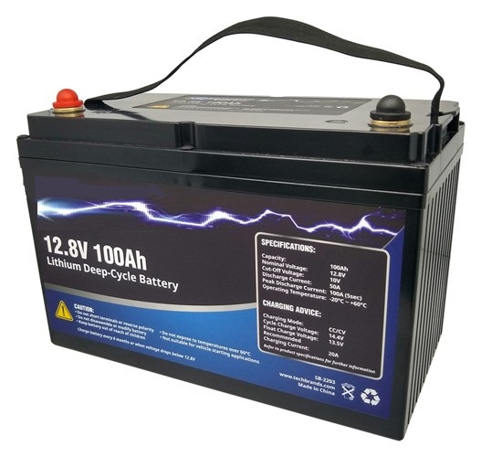 Lithium Battery 12.8v 100a LiFePO4 Sealed