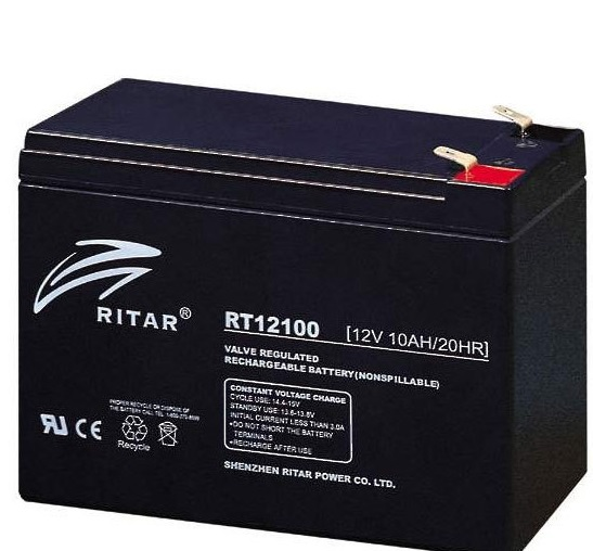 12V 10ah SLA, VRLA, AGM sealed Battery RITAR