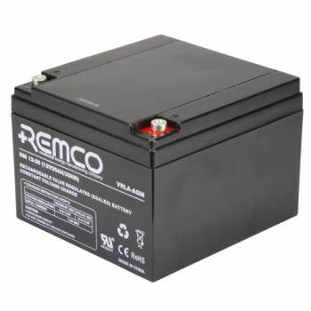 12V 26ah SLA, VRLA, AGM sealed Battery REMCO (FREE DELIVERY, no Rural tickets)