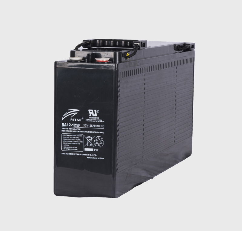 12V 125ah SLA, VRLA, AGM sealed Battery RITAR F9 -FRONT TERMINALS