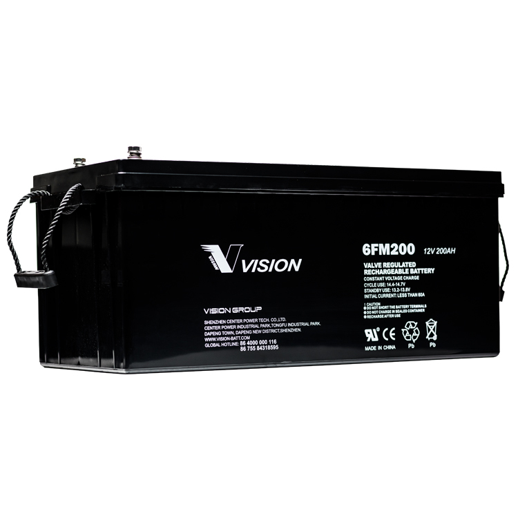 Vision 12v 200ah AGM Battery (FREE DELIVERY, no Rural tickets)