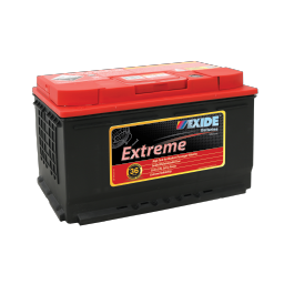 XDIN77HMF 12v 780cca EXIDE EXTREME BATTERY (FREE DELIVERY, no Rural tickets)