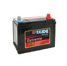 X43MF 12v 410cca EXIDE EXTREME BATTERY (FREE DELIVERY, no Rural tickets)
