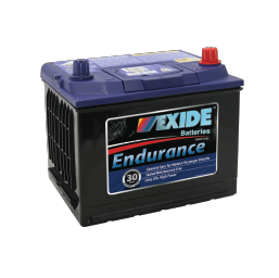 54CMF 12v 580cca EXIDE ENDURANCE BATTERY (FREE DELIVERY, no Rural tickets)