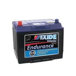 N50ZZMF 12v 620cca AUTO/COMMERCIAL EXIDE ENDURANCE BATTERY (FREE DELIVERY, no Rural tickets)