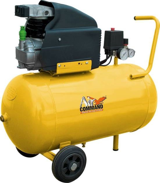 Air Compressor 125psi, 50L tank, Direct Drive, AC=Mains Powered.