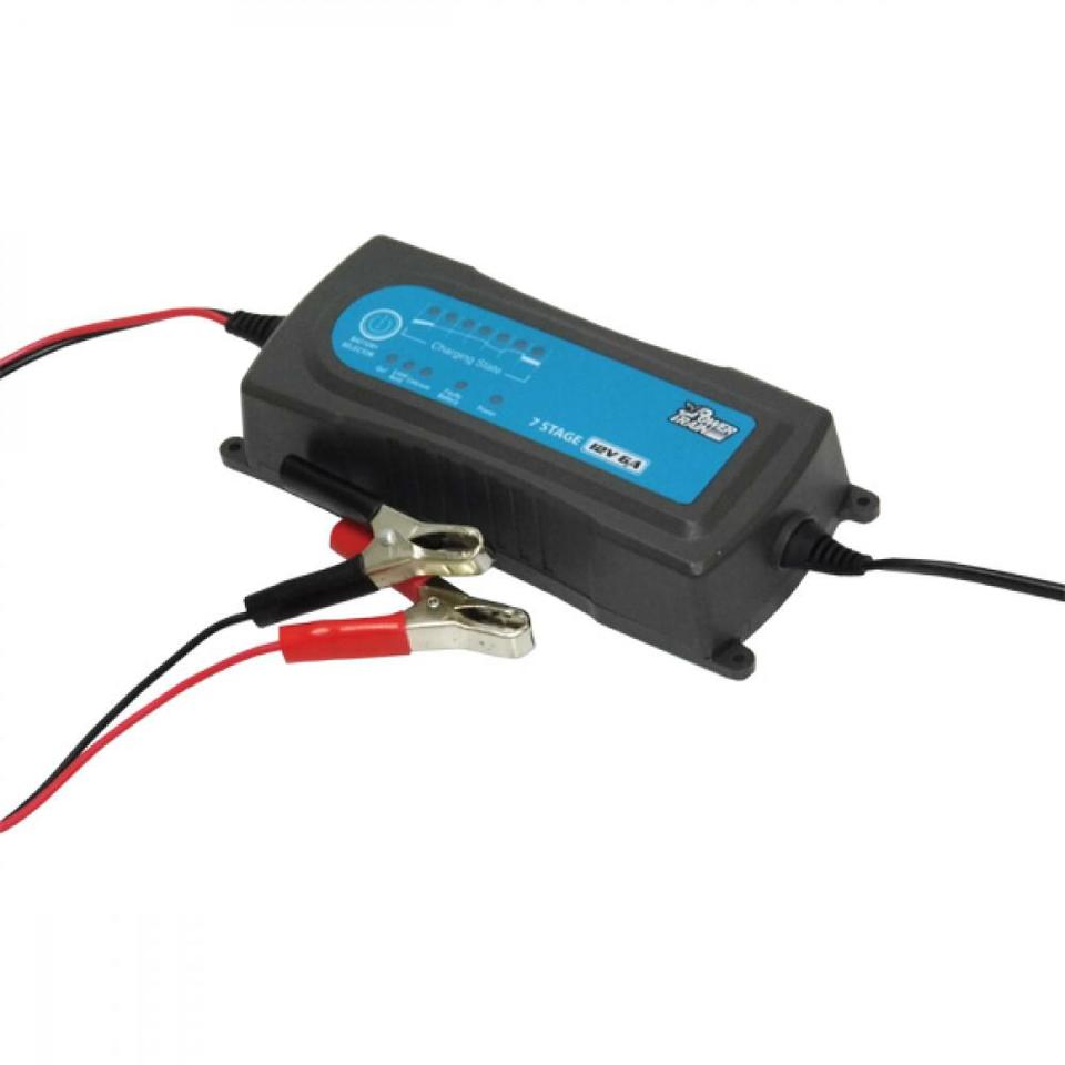 Power Train 12v 6A 7-Stage Battery Charger + Maintainer