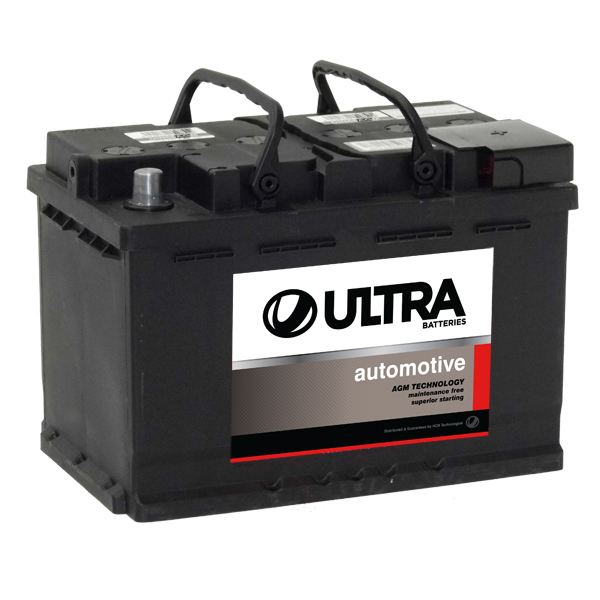 DIN66AGM 760cca ENDURANT ULTRA CAR Battery (FREE DELIVERY, no Rural tickets)