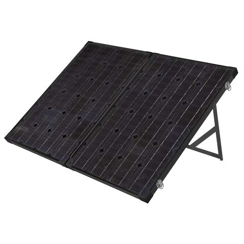 Monocrystalline 12V 120W Portable Folding Solar Panel Kit (FREE DELIVERY)