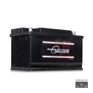 DIN73LMF 700CCA European Car Battery (FREE DELIVERY, no Rural tickets)
