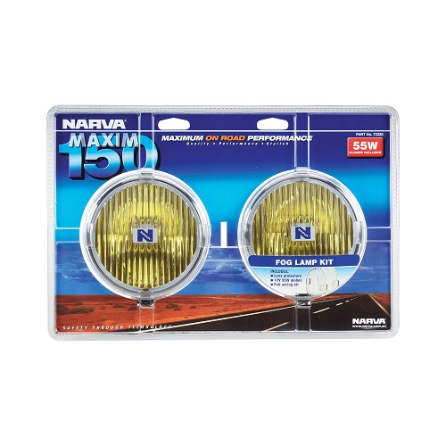 Maxim 150 Yellow Fog Lamp Kit (free delivery)