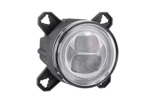 9-33V L.E.D LOW BEAM HEADLAMP ASSEMBLY WITH DRL AND POSITION LIGHT 90MM DIAMETER single (free delivery)