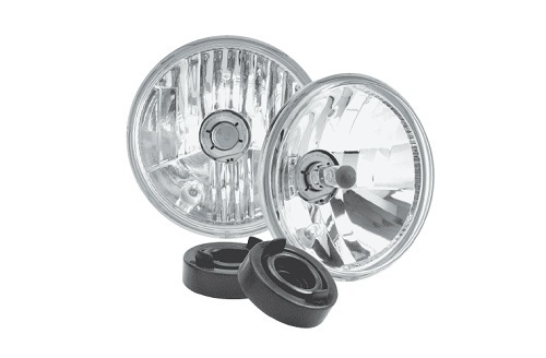 Halogen Headlamp - H4 Conversion Kit - 5 3/4' High/Low Beam Free Form (free delivery)