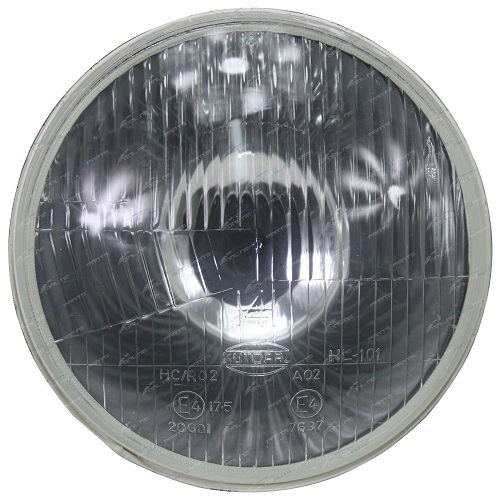 Halogen Headlamp - H4 5 3/4' (146mm) free form lamp -single (free delivery)