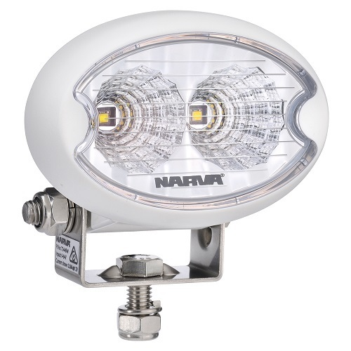 9-64V L.E.D Work Lamp Flood Beam MARINE - White - 900 lumens -single (free delivery)