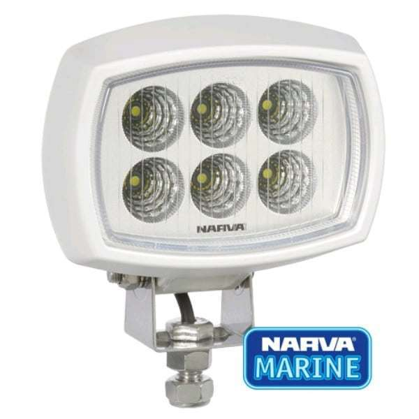 9-64V L.E.D Work Lamp Flood Beam Marine Grade - 3000 lumens -single (free delivery)