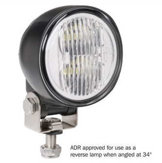 9-33V L.E.D WORK LAMP/REVERSE LAMP FLOOD BEAM - 2500 LUMENS -single (free delivery)