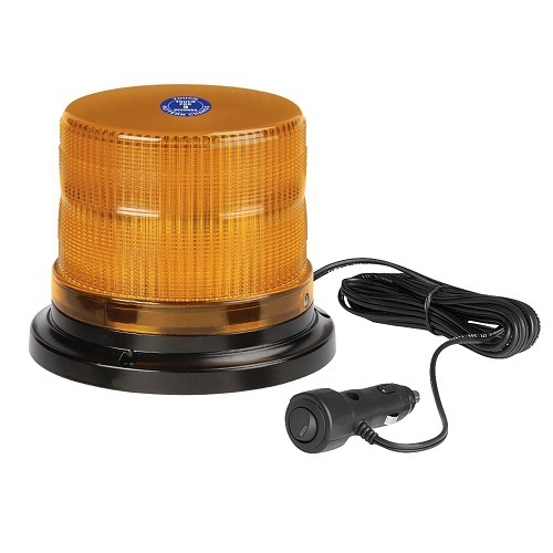 'Pulse' High Output L.E.D Strobe/Rotator Light (Amber), 2 Selectable Flash Patterns (free delivery)