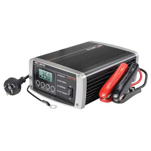 IC3500 12v 35a 7-stage Multi-Chemistry Charger with remote LCD display