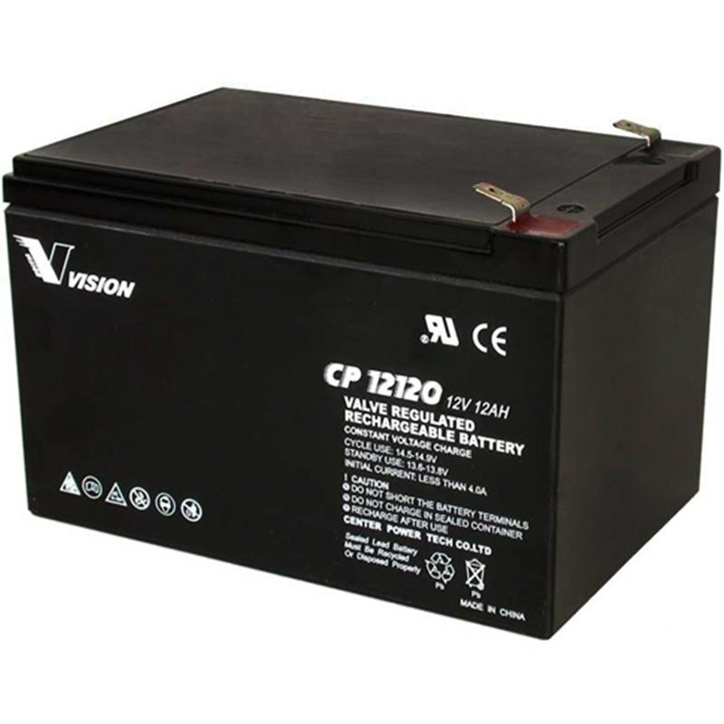 CP12120 12volt 12amp Battery (FREE DELIVERY, no Rural tickets)