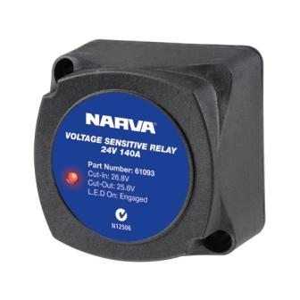 Voltage sensitive relay VSR 24V 140A