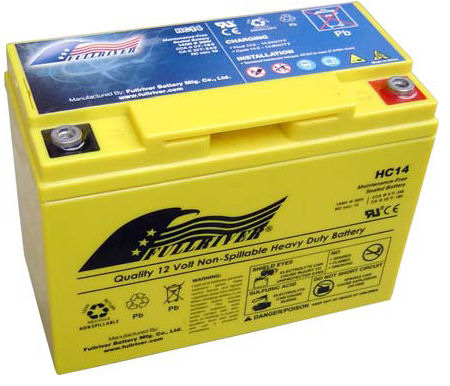 HC14B Full River 12v Performance/sports Battery