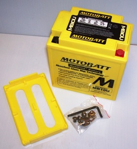 MB10U Motorcycle battery Motobatt Quadflex Battery