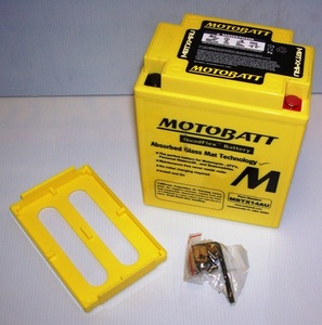 MBTX14AU Motorcycle Battery Motobatt Quadflex Battery