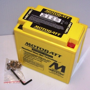 MBTX16U Motorcycle Battery Motobatt Quadflex Battery 12v