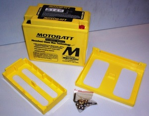 MBTX20U Motorcycle battery Motobatt Quadflex Battery